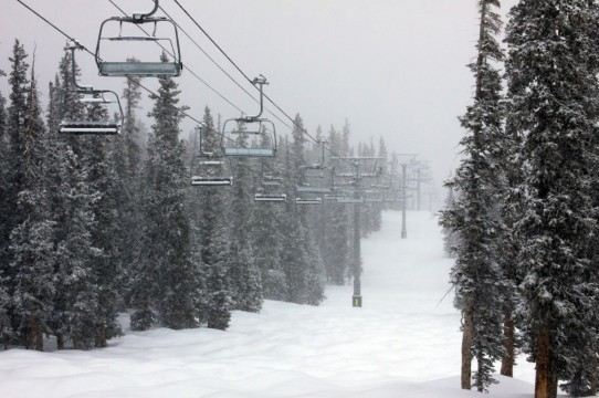 Snow in Keystone, GoPro hunt and night skiing!