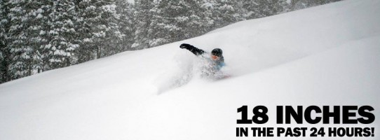 Great snow conditions at Keystone Ski Resort and Colorado!