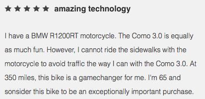 E-Bike rental Review